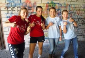 2013-09-16 - 2. 'Handball bewegt Schule' TRIKOT-TAG - Gewinner 2012 - TG Neureut