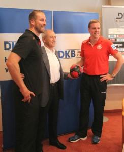 Beim Medientreff mit der deutschen Nationalmannschaft auf dem Schliffkopf