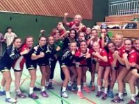 Weibliche C-Jugend der TSG Wiesloch holt 1. Platz beim GTÜ-Cup in Herrenberg
