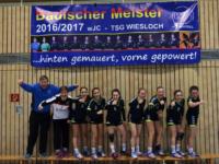 C-Mädchen der TSG Handball holen die badische Meisterschaft vorzeitig nach Wiesloch