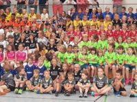 Minispielfest des Handballkrieses Heidelberg in Dossenheim war ein voller Erfolg